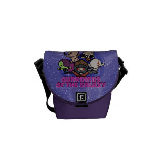 Kawaii Guardians of the Galaxy Swirl Graphic Commuter Bags