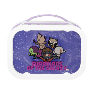 Kawaii Guardians of the Galaxy Swirl Graphic Lunch Box