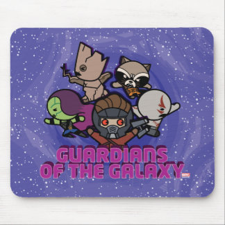 Kawaii Guardians of the Galaxy Swirl Graphic Mouse Pad