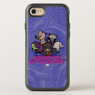 Kawaii Guardians of the Galaxy Swirl Graphic OtterBox Symmetry iPhone 8/7 Case