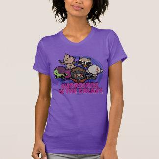Kawaii Guardians of the Galaxy Swirl Graphic T-Shirt