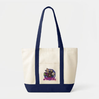 Kawaii Guardians of the Galaxy Swirl Graphic Tote Bag