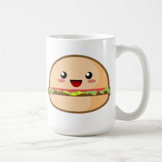 Kawaii Hamburger Coffee Mug