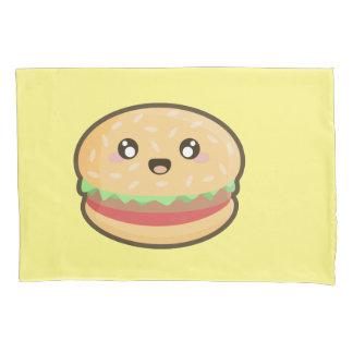 Kawaii hamburger pillowcase
