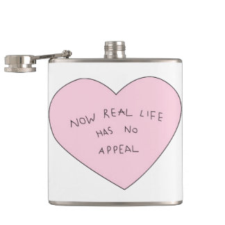 kawaii hip flask