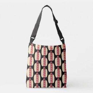 Kawaii Hot Dog TP Crossbody Bag