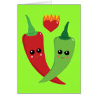 Kawaii Hot Pepper Card