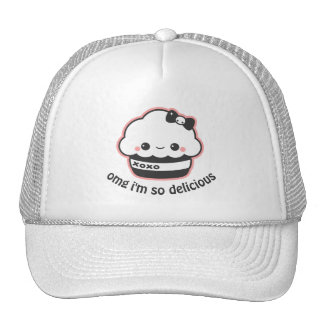 Kawaii Hugs and Kisses Cupcake Cap