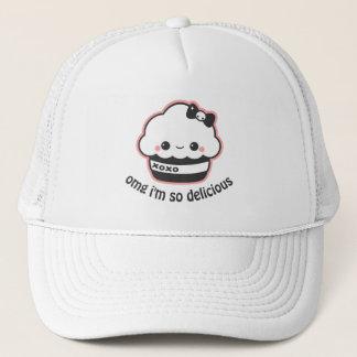 Kawaii Hugs and Kisses Cupcake Trucker Hat