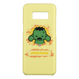 Kawaii Hulk With Marvel Hero Icons Case-Mate Samsung Galaxy S8 Case