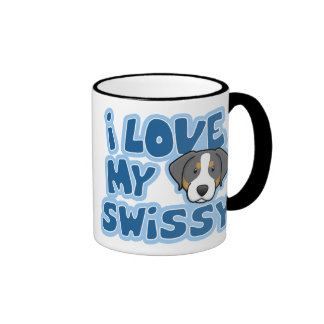 Kawaii I Love My Swissy Mug
