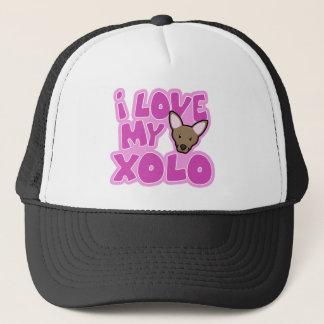 Kawaii I Love my Xolo Cap