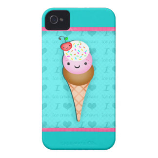 Kawaii Ice Cream BlackBerry Barely There Case Blackberry Bold Case