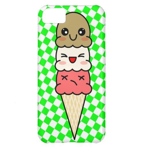 Kawaii Ice Cream Cover For iPhone 5C