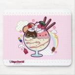 Kawaii Ice Cream Mousemat