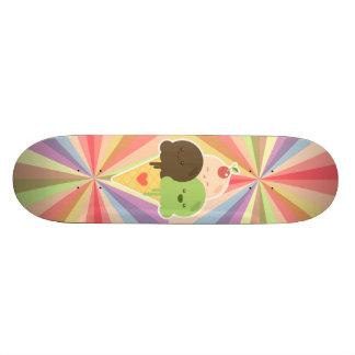 Kawaii Ice Cream Rainbow 21.6 Cm Skateboard Deck