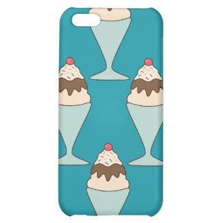 Kawaii ice cream sprinkles sundae dessert case cover for iPhone 5C