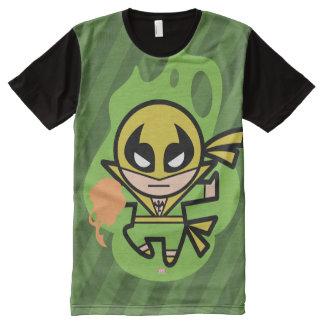 Kawaii Iron Fist Chi Manipulation All-Over Print T-Shirt