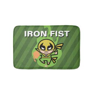 Kawaii Iron Fist Chi Manipulation Bath Mat