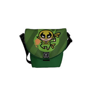Kawaii Iron Fist Chi Manipulation Courier Bags