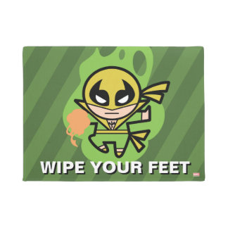 Kawaii Iron Fist Chi Manipulation Doormat