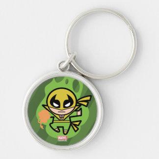 Kawaii Iron Fist Chi Manipulation Key Ring