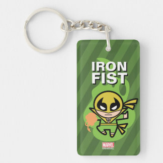 Kawaii Iron Fist Chi Manipulation Key Ring