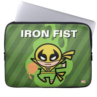 Kawaii Iron Fist Chi Manipulation Laptop Sleeve