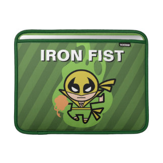 Kawaii Iron Fist Chi Manipulation MacBook Sleeve