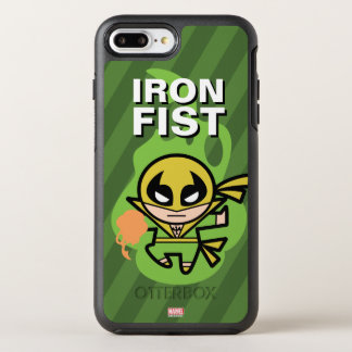 Kawaii Iron Fist Chi Manipulation OtterBox Symmetry iPhone 8 Plus/7 Plus Case
