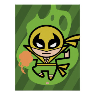 Kawaii Iron Fist Chi Manipulation Poster
