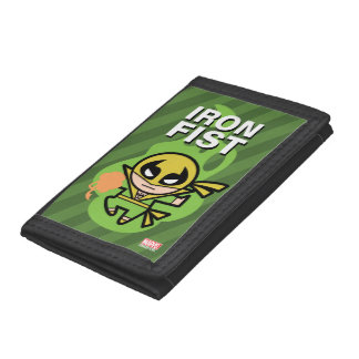 Kawaii Iron Fist Chi Manipulation Tri-fold Wallet