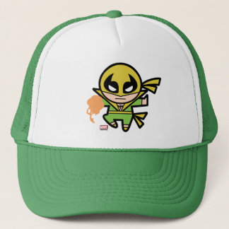 Kawaii Iron Fist Chi Manipulation Trucker Hat