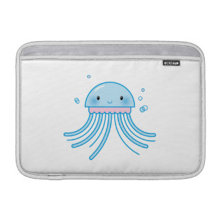 Kawaii jellyfish MacBook sleeve