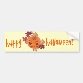 Kawaii Kabocha - the Supercute Pumpkin! Bumper Sticker