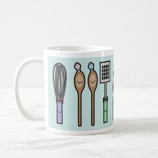 Kawaii Kitchen Utensils Coffee Mug