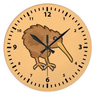 Kawaii Kiwi Large Clock