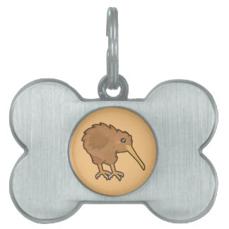 Kawaii Kiwi Pet Tag