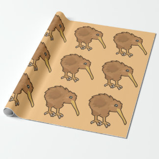 Kawaii Kiwi Wrapping Paper