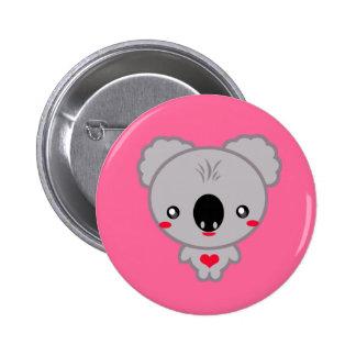 Kawaii Koala Bear 6 Cm Round Badge