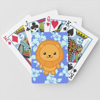 Kawaii Lion Poker Deck