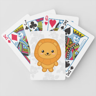 Kawaii Lion Poker Deck