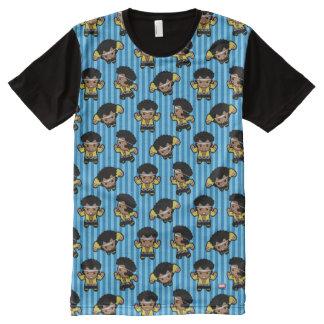 Kawaii Luke Cage Flexing All-Over Print T-Shirt