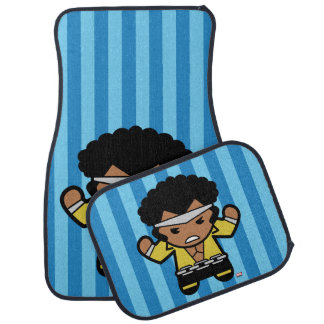 Kawaii Luke Cage Flexing Car Mat