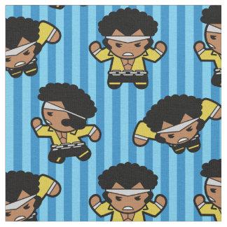 Kawaii Luke Cage Flexing Fabric