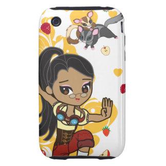 Kawaii Madison the Steampunk Chibi iPhone 3 Case