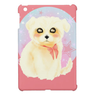 Kawaii Maltese Puppy Dog iPad Mini Covers