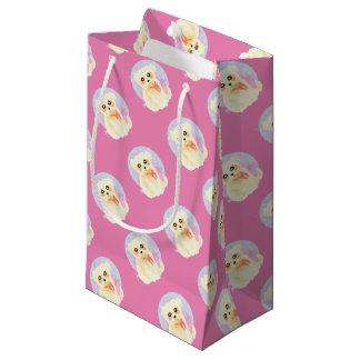 Kawaii Maltese Puppy Dog Small Gift Bag