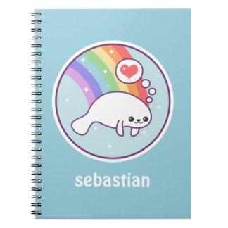 Kawaii Manatee Notebook