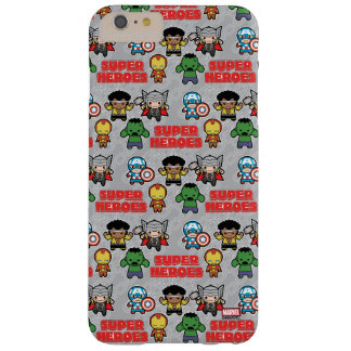 Kawaii Marvel Super Heroes Barely There iPhone 6 Plus Case